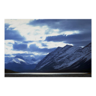 Upper Watertown Lake, Waterton Lakes Nat'l Park, C Poster