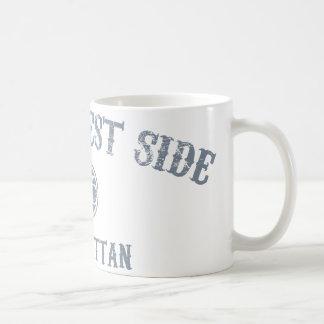 Upper West Side Classic White Coffee Mug