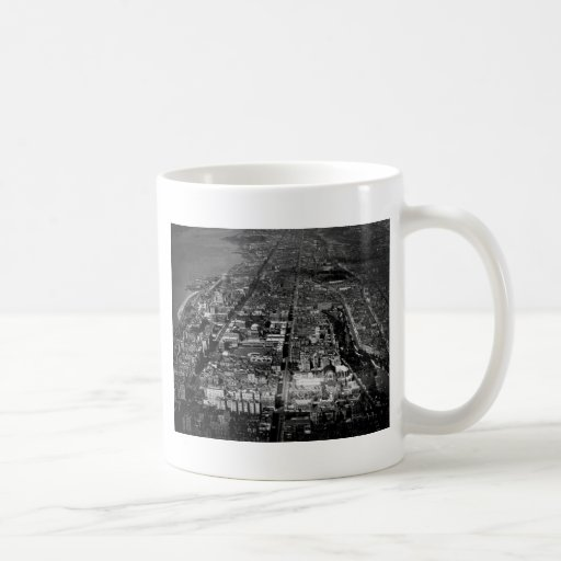 Upper West Side New York City Aerial View 1928 Coffee Mug