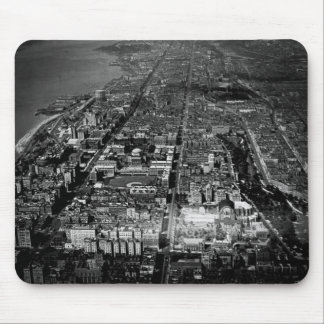 Upper West Side New York City Aerial View 1928 Mouse Pad