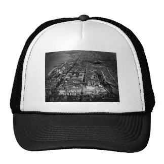Upper West Side New York City Aerial View 1928 Trucker Hat