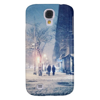 Upper West Side Winter Night Galaxy S4 Cover