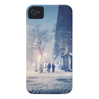 Upper West Side Winter Night iPhone 4 Cover