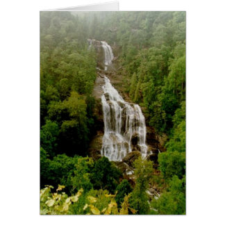 Upper Whitewater Falls Card