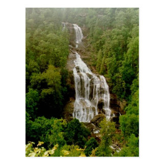 Upper Whitewater Falls Postcard