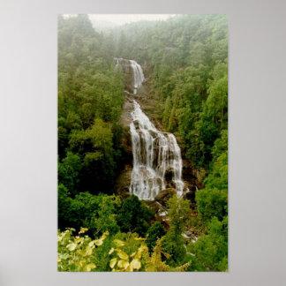 Upper Whitewater Falls Poster