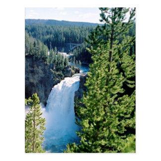 Upper Yellowstone Falls Postcard