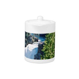 Upper Yellowstone Falls Teapot
