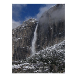 Upper Yosemite Fall Poster