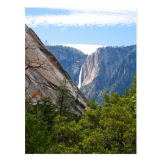 Upper Yosemite Falls and Glacier Point Postcard