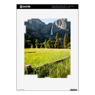 Upper Yosemite Falls iPad 3 Skins
