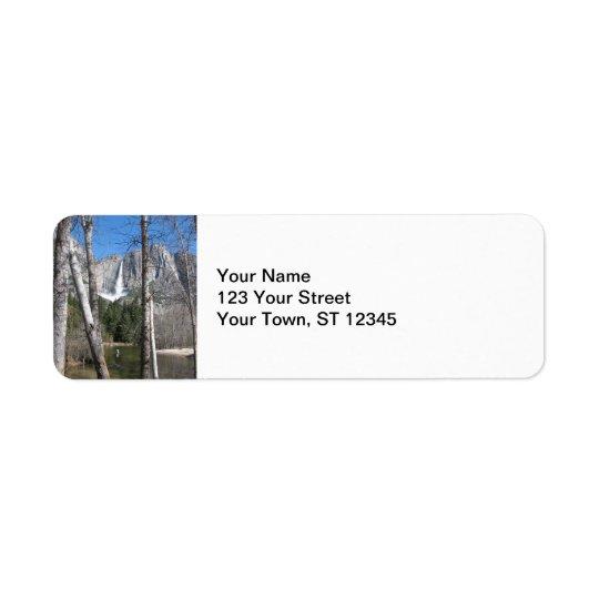 Upper Yosemite Falls Label