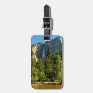 Upper Yosemite Falls, Merced River, Yosemite Luggage Tag