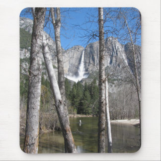 Upper Yosemite Falls Mouse Pad