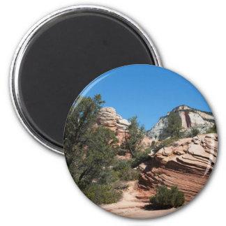 Upper Zion Weathered Sandstones Magnet