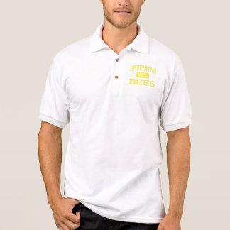 Upperman - Bees - High School - Baxter Tennessee Polo T-shirt