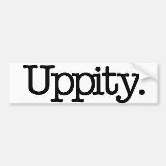 Uppity Bumper Sticker
