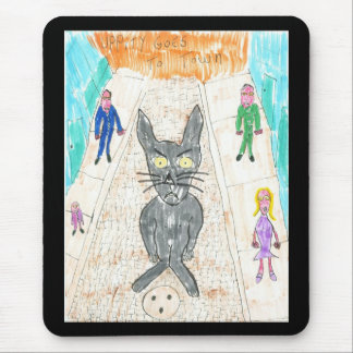 Uppity Goes to Town Mouse Pad