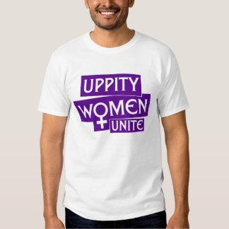 Uppity Women Unite Tee Shirt