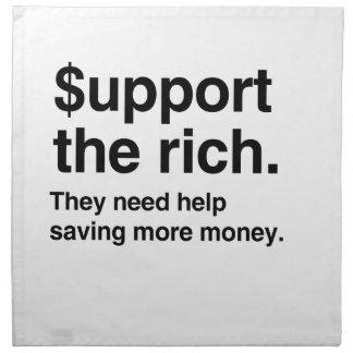 $upport el Rich.png Servilletas