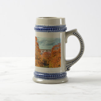 Uppsala Sweden Fall Scenic Picture Beer Stein