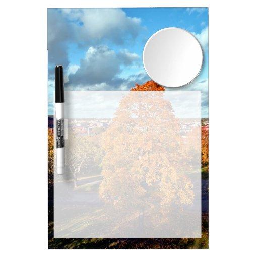 Uppsala Sweden Fall Scenic Picture Dry Erase Boards
