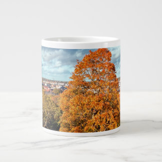 Uppsala Sweden Fall Scenic Picture Giant Coffee Mug