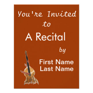 Upright acoustic bass with hands musician custom invites