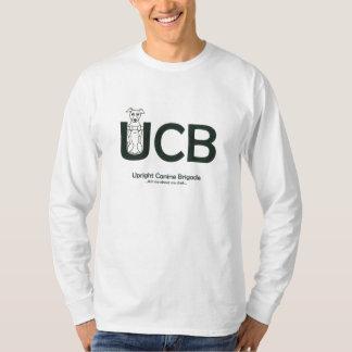 Upright Canine Brigade Men's Long Sleeved T-Shirt