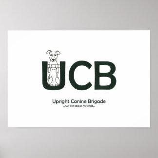 Upright Canine Brigade Poster