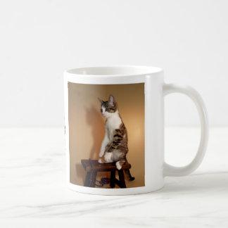 Upright Cat Mug