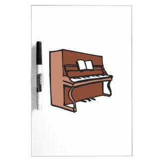 UPRIGHT PIANO DRY ERASE WHITEBOARDS