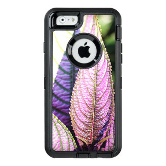 Upright Purple Leaves Otterbox iPhone 6/6S case