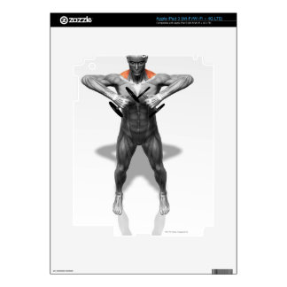 Upright Row Exercise 2 iPad 3 Skin