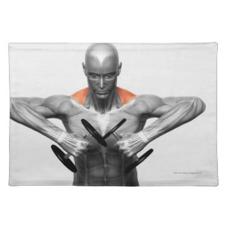 Upright Row Exercise 2 Placemat