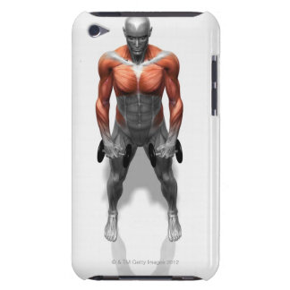 Upright Row Exercise iPod Case-Mate Cases