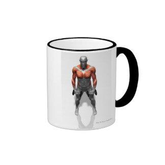 Upright Row Exercise Coffee Mug