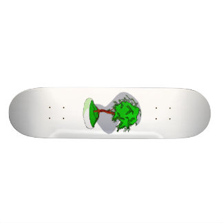 Upright Young Bonsai Graphic Image Design Custom Skateboard
