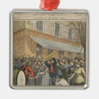 Uprising against a Salvation Army Christmas Tree Ornament