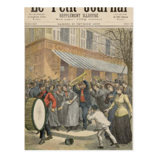Uprising against a Salvation Army Postcard