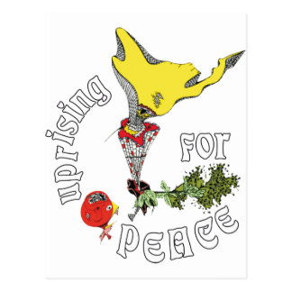 UPRISING FOR PEACE POSTCARD