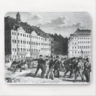 Uprising in Dresden Mouse Pad