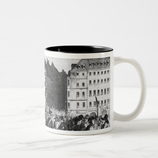 Uprising in Dresden Mugs