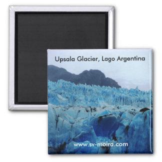 Upsala Glacier, Lago Argentina 2 Inch Square Magnet