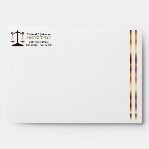 Upscale Attorney Design Envelope
