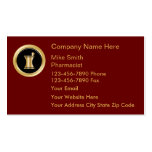 Upscale Pharmacy Business Cards