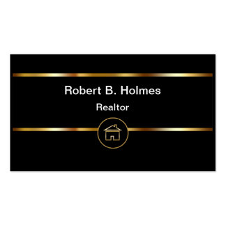 Upscale Realtor Business Cards
