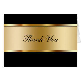 Upscale Thank You Cards