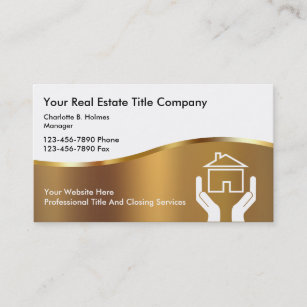 Loan officer business cards zazzle upscale title company business cards colourmoves