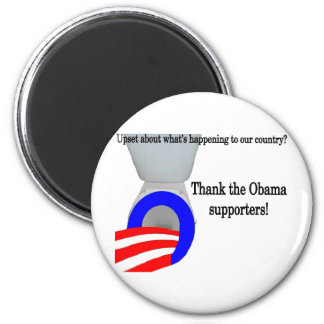 Upset About Our Country 2 Inch Round Magnet